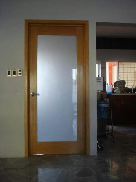 Puerta para ba o puertas principales y recamara pinterest - Puertas plegables para banos ...