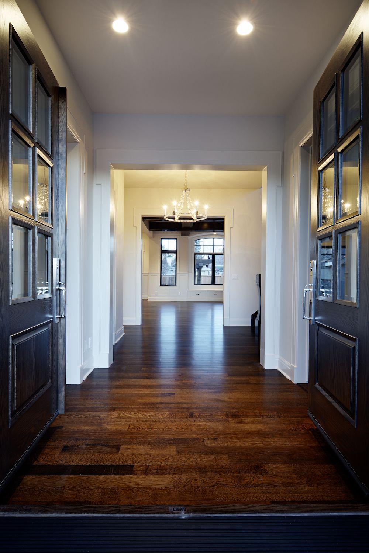 Elbow Park {10th} Foyer by Veranda Estate Homes Inc.