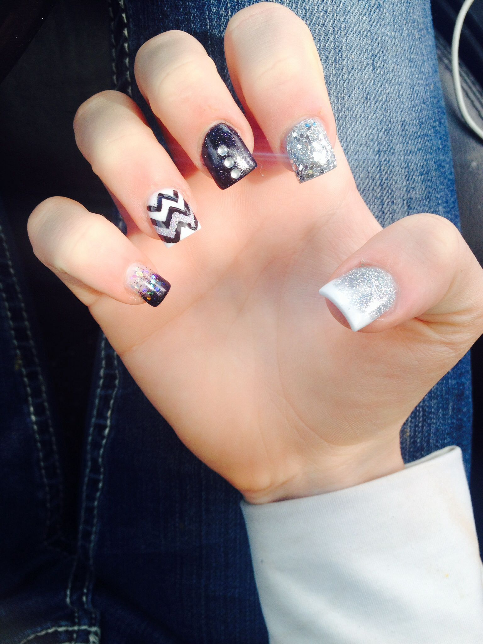 prom nails in 2019