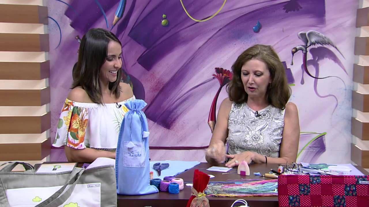 Mulher.com - 27/11/2015 - Saquinho multiuso em feltro - Rosana Pardo PT1