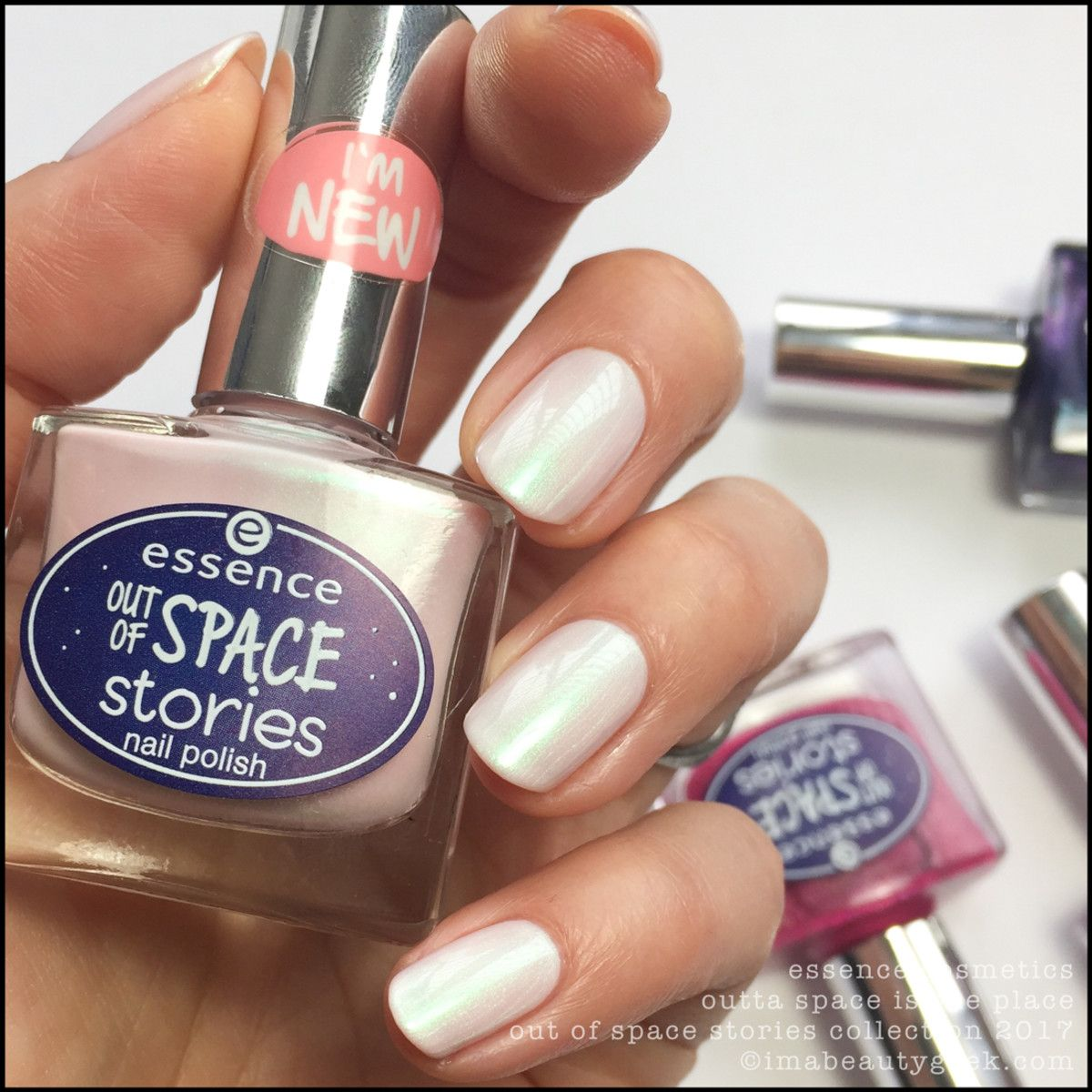 Essence Gel Nail Polish Space Queen: ESSENCE OUT OF SPACE STORIES COLLECTION SWATCHES & REVIEW