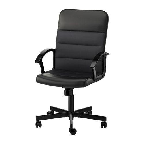 Renberget Swivel Chair Bomstad Black Ikea Ikea Office Chair Office Chair Swivel Chair