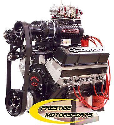 700HP 427 SBC Whipple Supercharged Marine Engine Custom Turn