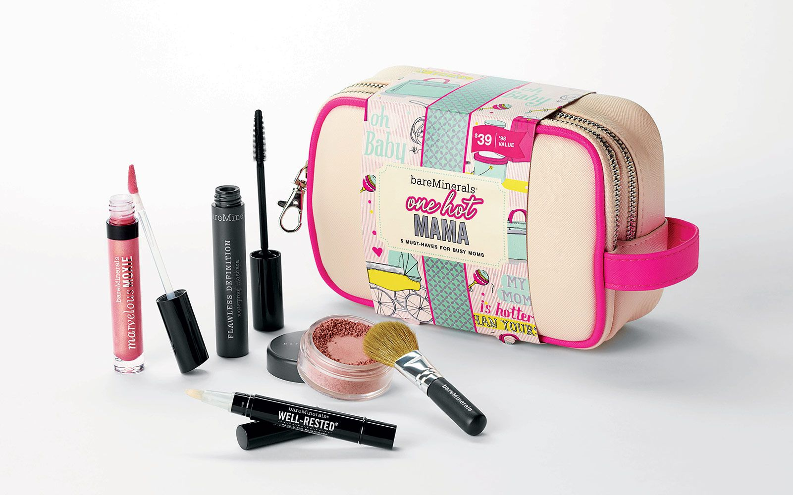BareMinerals http://parade.condenast.com/285983/jennytzeses/16-gifts-for-the-fashionable-mom/