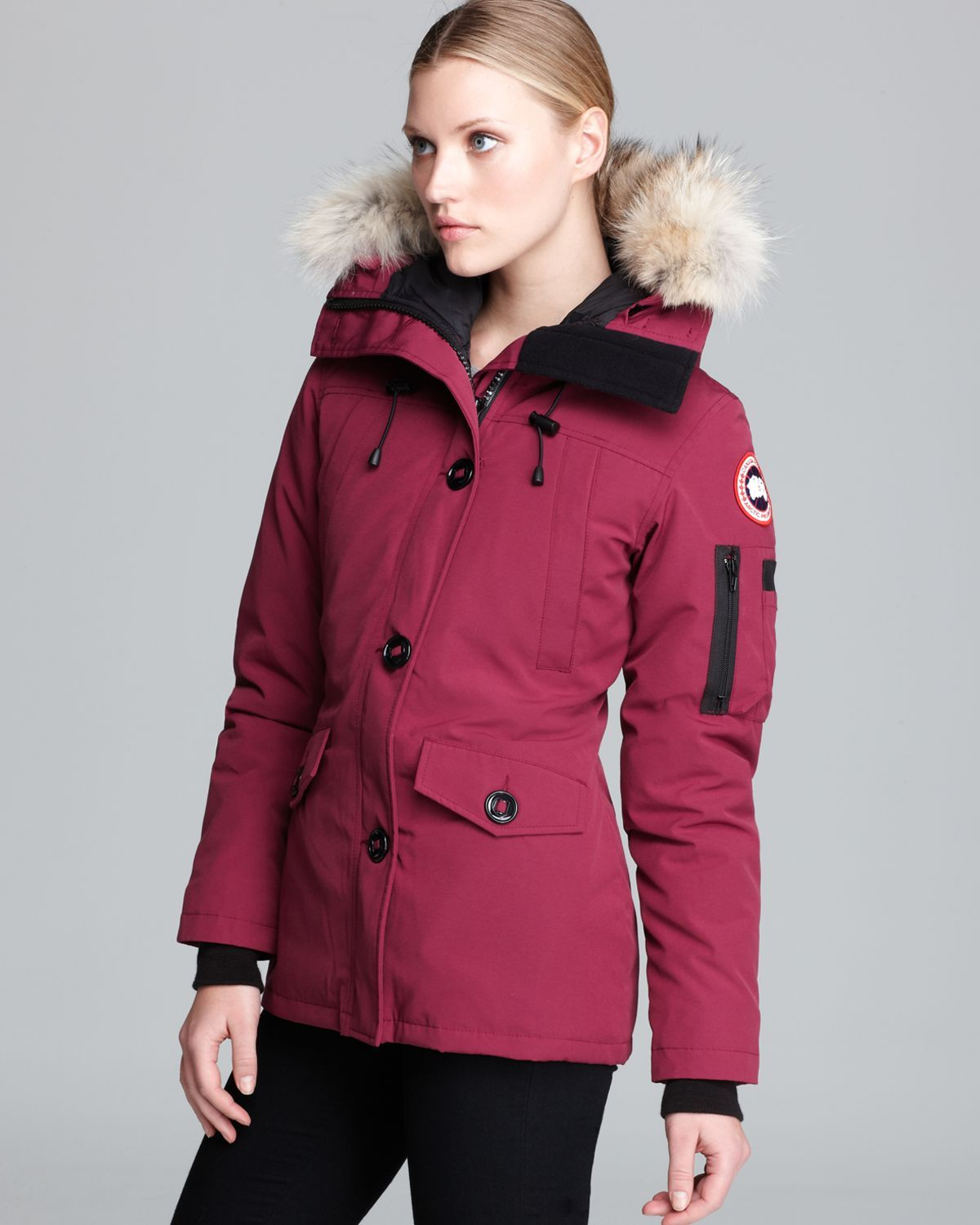 canada goose burgundy - Google Search