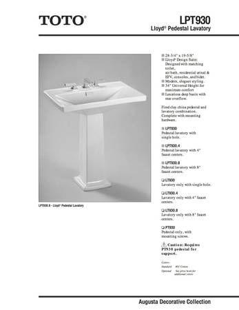 Toto Lloyd - $300 (Union Square) - Craigslist | Bathroom ...