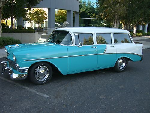 Pin By Michael Reading On Yes I Need This 1956 Chevy Bel Air Chevy Bel Air Wagon Station Wagon