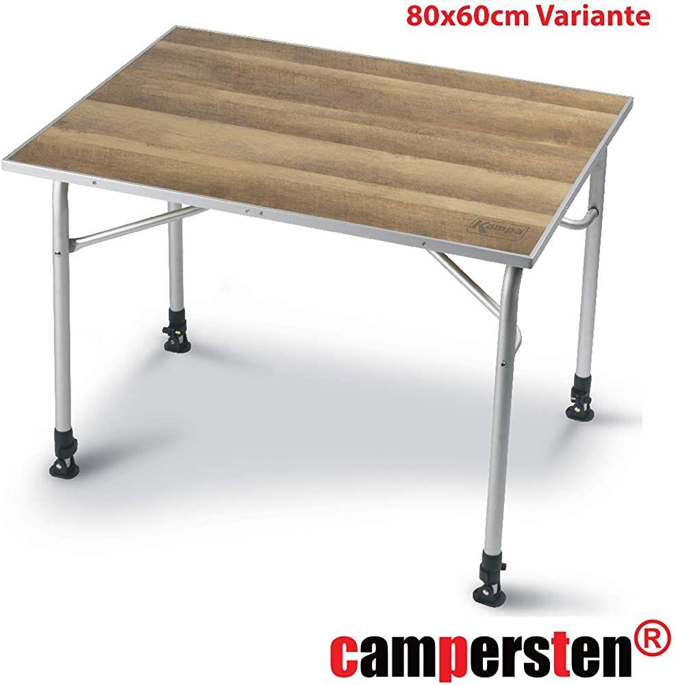 Campingtisch Mit Bambusplatte Extra Leicht Hohenverstellbar