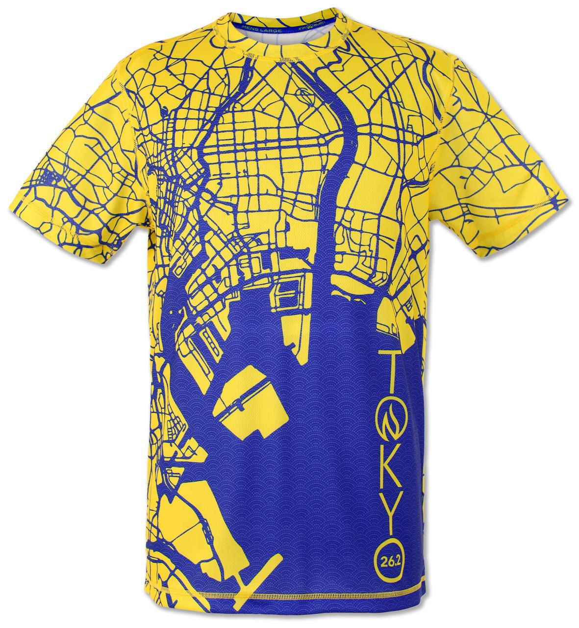 Mens Tokyo Marathon Tech Shirt Graphic And Product Marathon