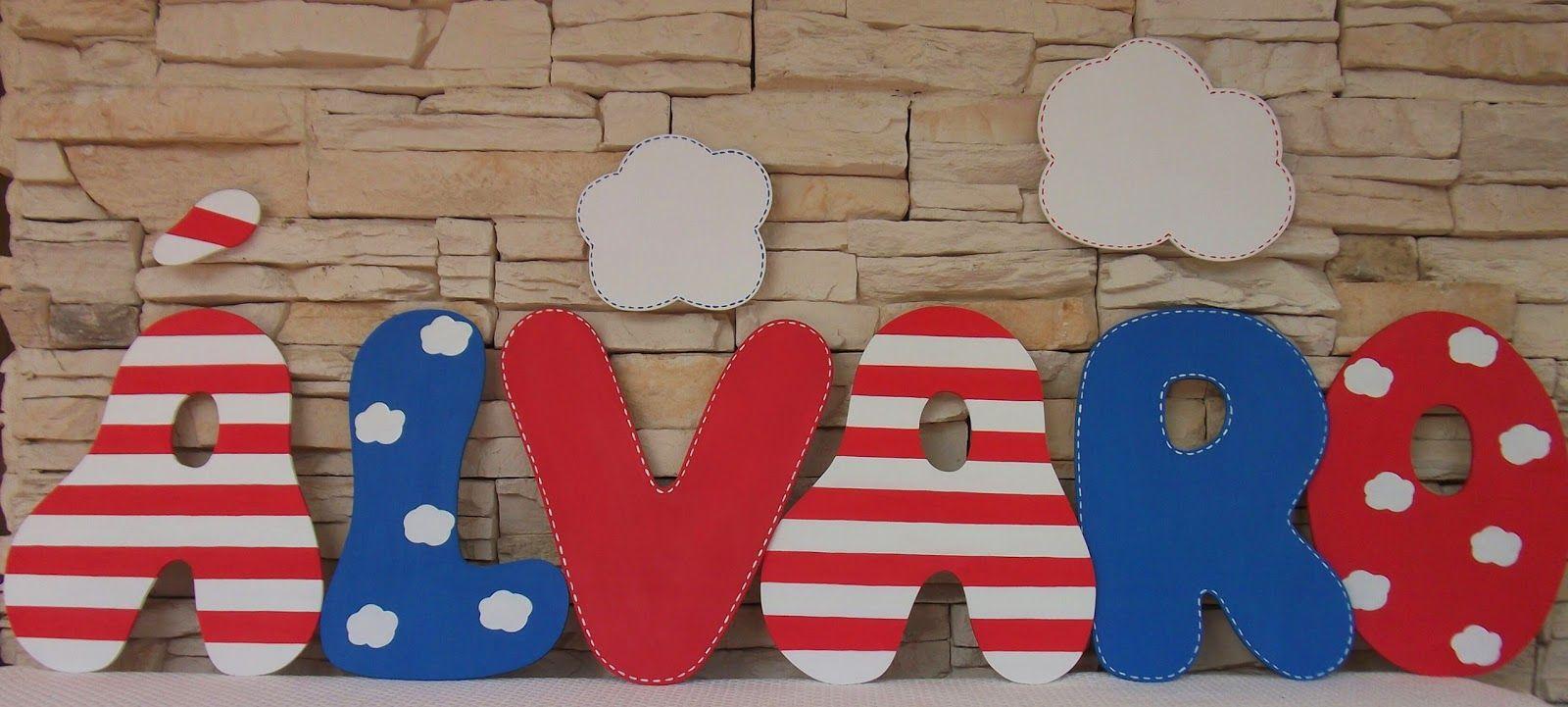 Decoraci n infantil pekerines letras de madera para - Habitaciones para jovenes ...