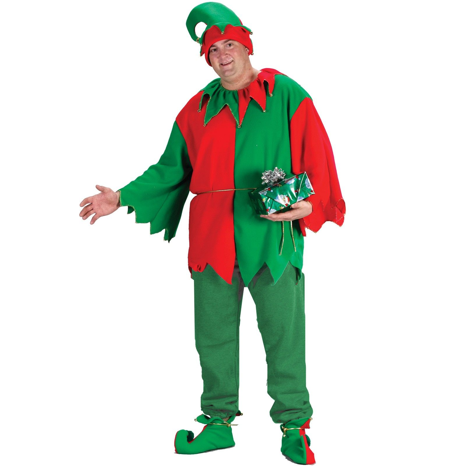 Classic Elf Adult Plus Costume Plus Plus size costume