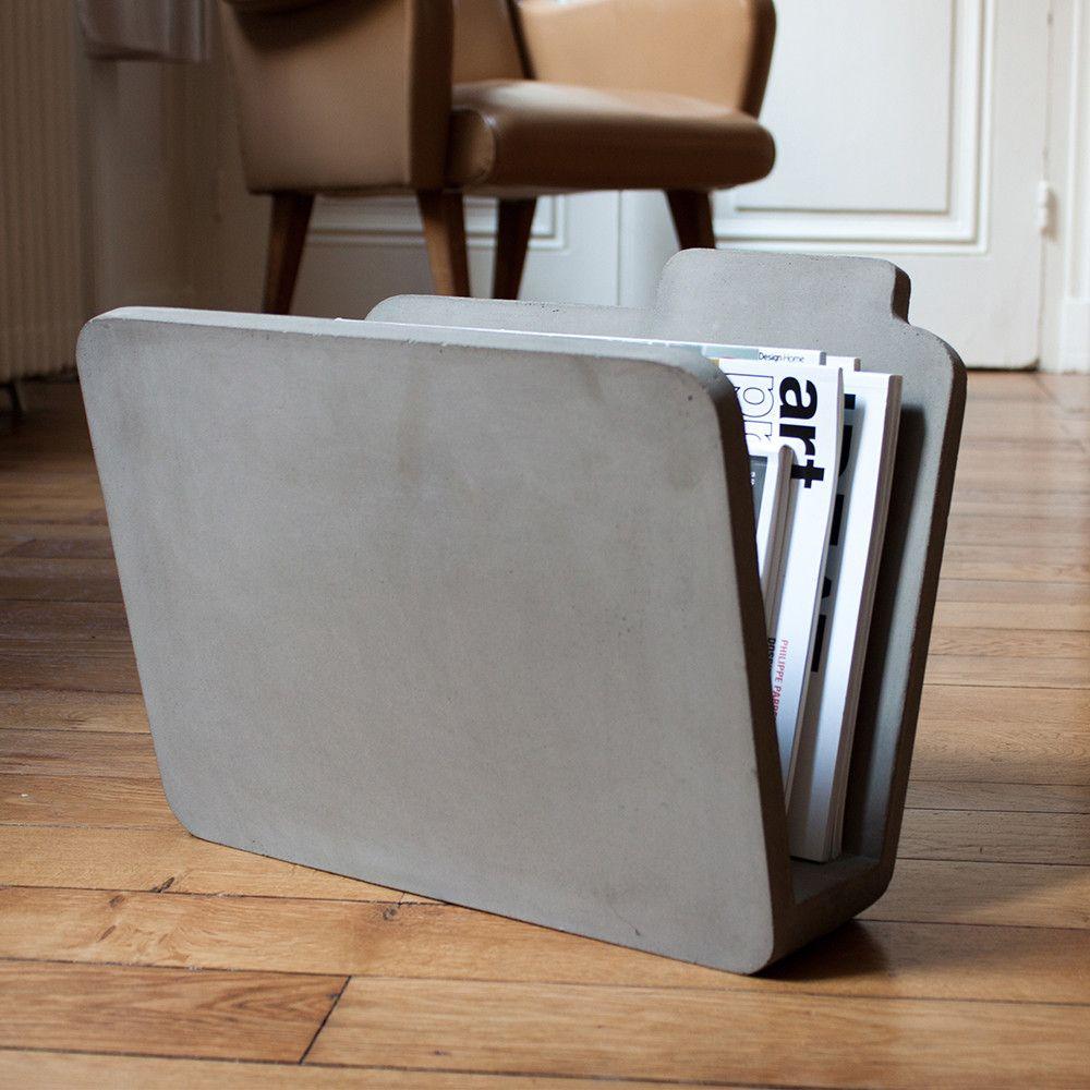 Zeitschriftenständer beton zeitschriftenständer concrete design and diy furniture