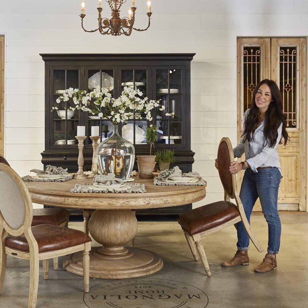 Magnolia Home Furniture Table Joanna Gaines Dining Room Farmhouse Kitchen Design Farmhouse Dining Room Table