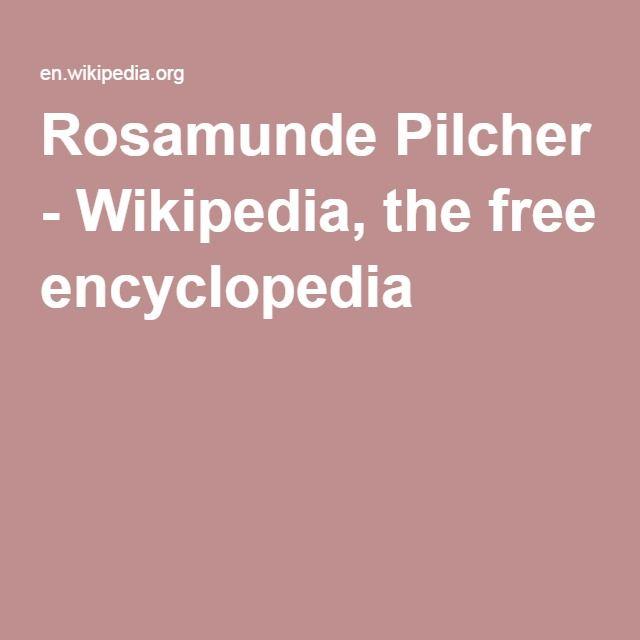 Rosamunde Pilcher Wikipedia