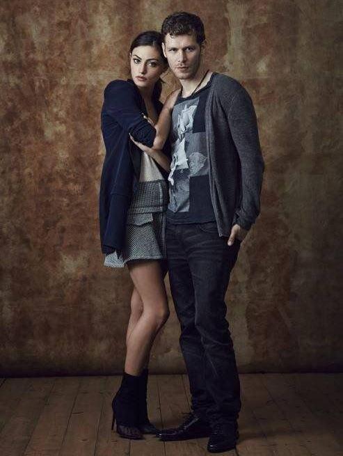 "The Originals – TV Série - Niklaus ""Klaus"" Mikaelson - Joseph Morgan - Hayley Marshall - Phoebe Tonkin - rei e rainha - King and queen - lobo - Wolf - casal - couple - amor - love"