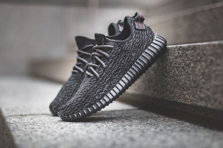 кроссовки adidas yeezy boost 350 low black