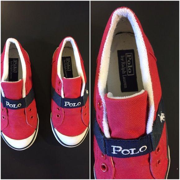 Polo by Ralph Lauren kids shoes Kid Ralph Lauren shoes size 13. In good condition Ralph Lauren Shoes