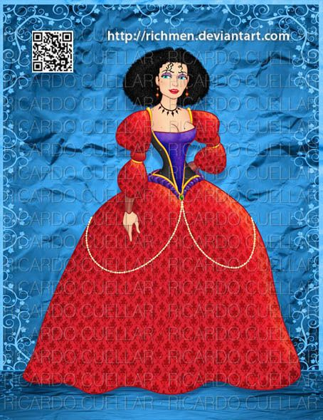 Mother Gothel Tangled by Richmen