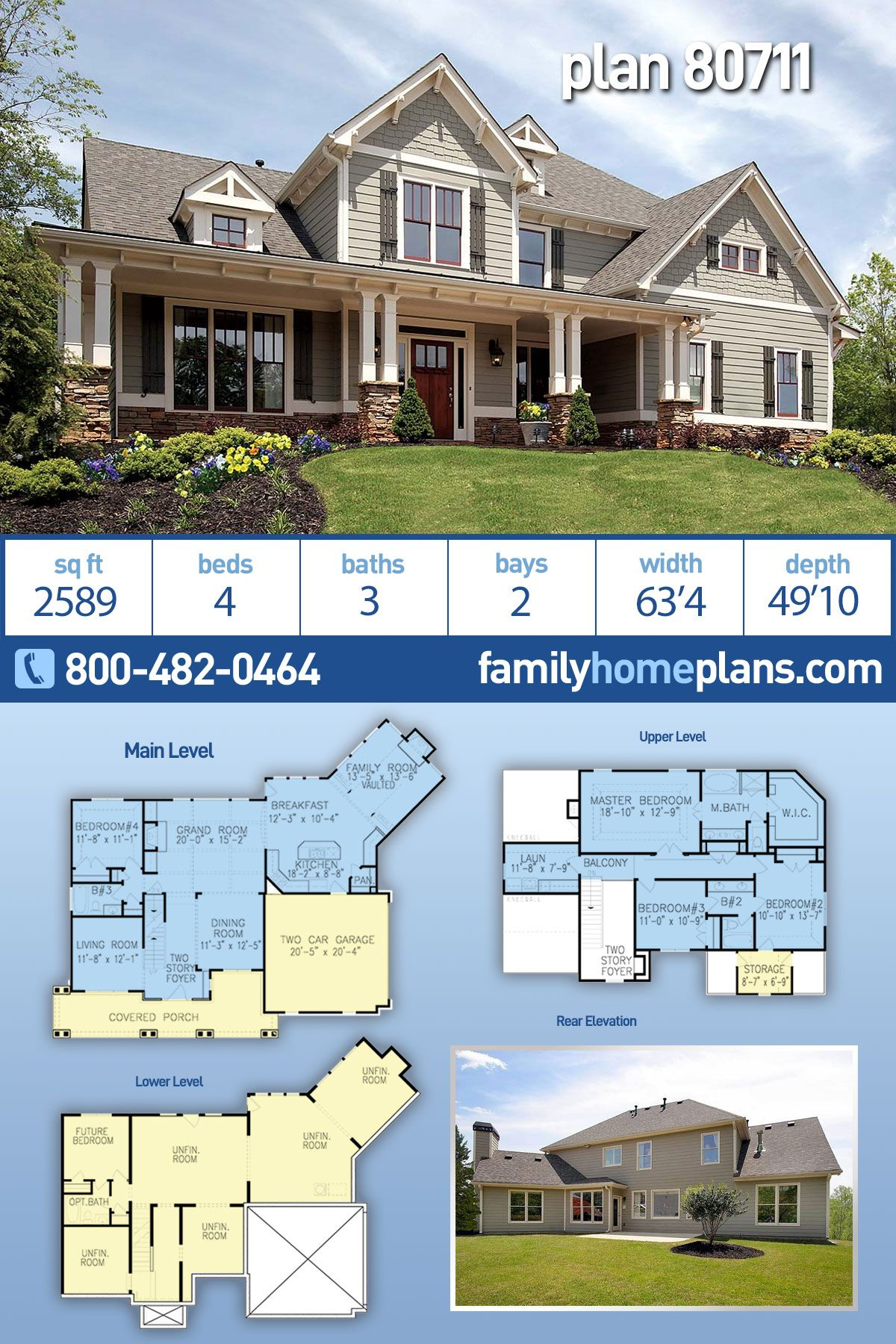 Pin On Traditional Style House Plan