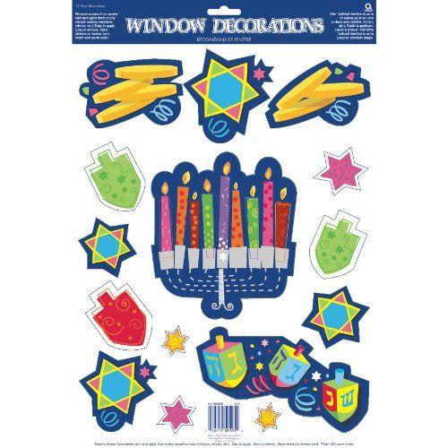 Happy Chanukah Confetti Assorted Chanukah Shapes