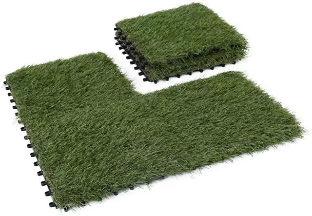 Amazon Com Carpet Tiles 12x12 Artificial Grass Artificial Grass Mat Artificial Turf