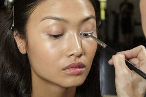 White has become a white hot eye makeup trend. Learn how to use it.: Too Cool White Eyes