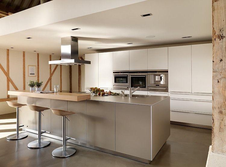 99 id es de cuisine moderne o le bois est la mode. Black Bedroom Furniture Sets. Home Design Ideas