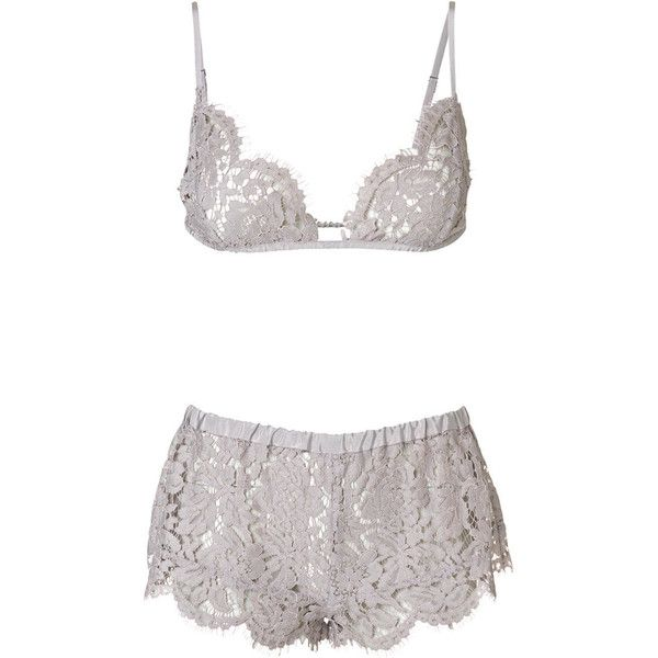 409260040ef28 By Malene Birger Lorenza Lace Lingerie ( 94) ❤ liked on Polyvore featuring  intimates
