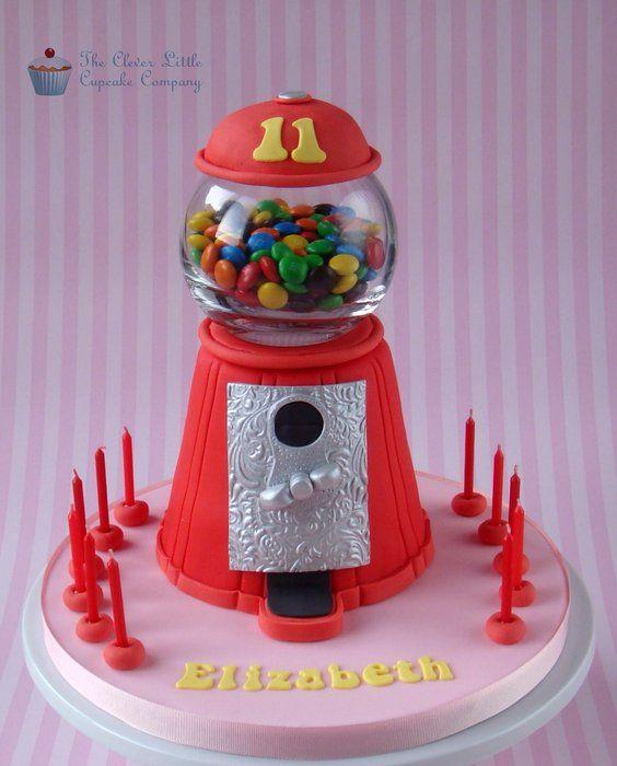 Candy Machine Cake - by CleverLittleCupcake @ CakesDecor.com - cake decorating website