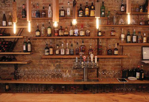 Image Result For Back Bar Shelving