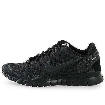 Nike Free Tr Fit 2 Womens 487789 001 Black Cross Training Shoes Wmns Size 9.5