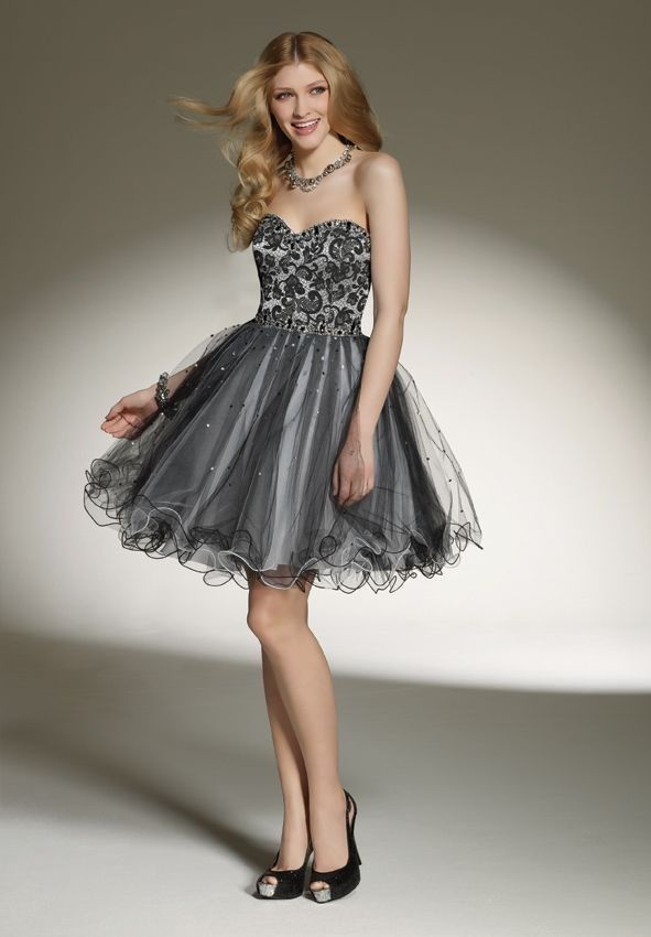 Short ball gown | Tiffani\'s sweet 16 | Pinterest | Ball gowns, Gowns ...
