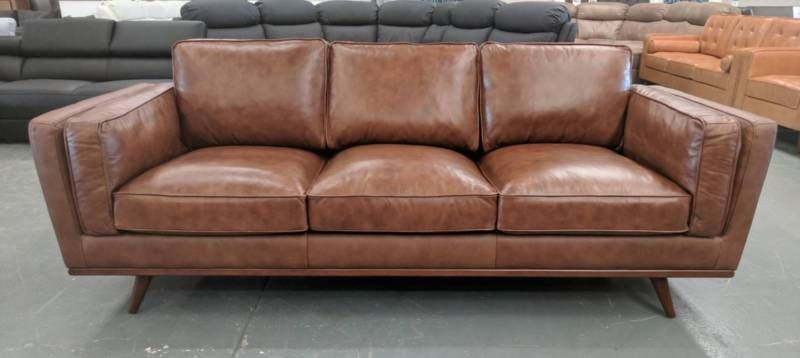 Leather Sofas - BRAND NEW - 60% off RRP - Factory Outlet ...