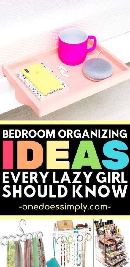 43+ Trendy diy organization for teens bedrooms tips