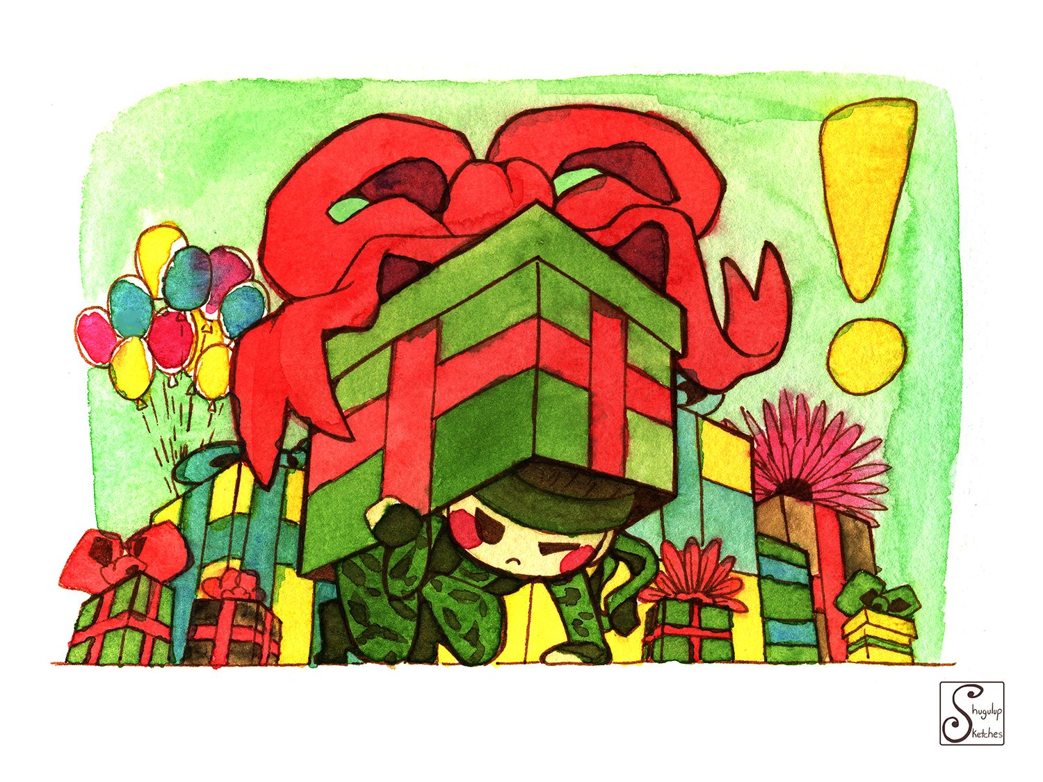 Metal Gear Solid Birthday card Cards for Nerds Spotted