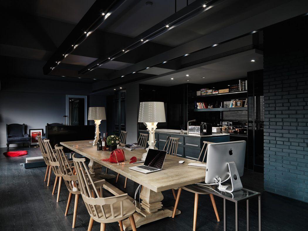 Apartment in Taipei City by Taipei Base Design Center