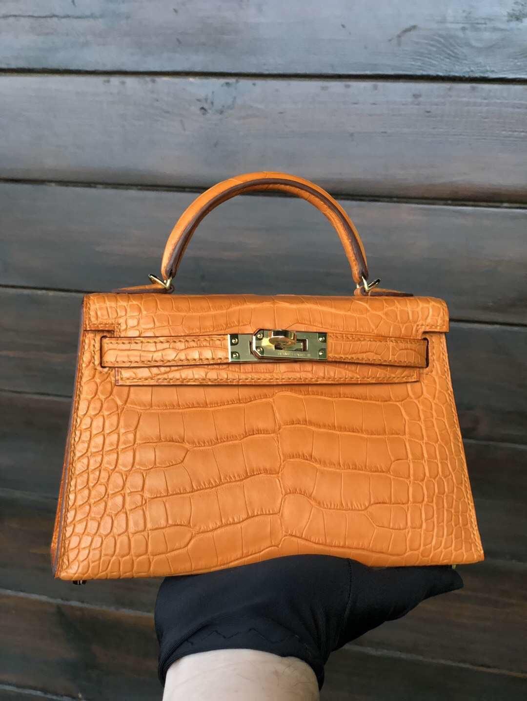 fc82152f89e9 Hermes Mini Kelly 2 apricot alligator gold hardware  bags  rarebags  kelly   k20  k20croco  croco  style  fashion  gq  vogue  dubaimall  hermessaudi   saudi ...