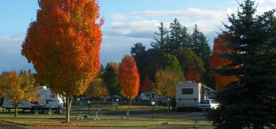 WILLAMETTE WINE COUNTRY RV PARK In Dayton Oregon