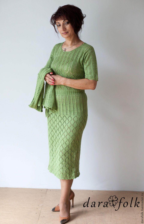 Купить ручной вязки платье