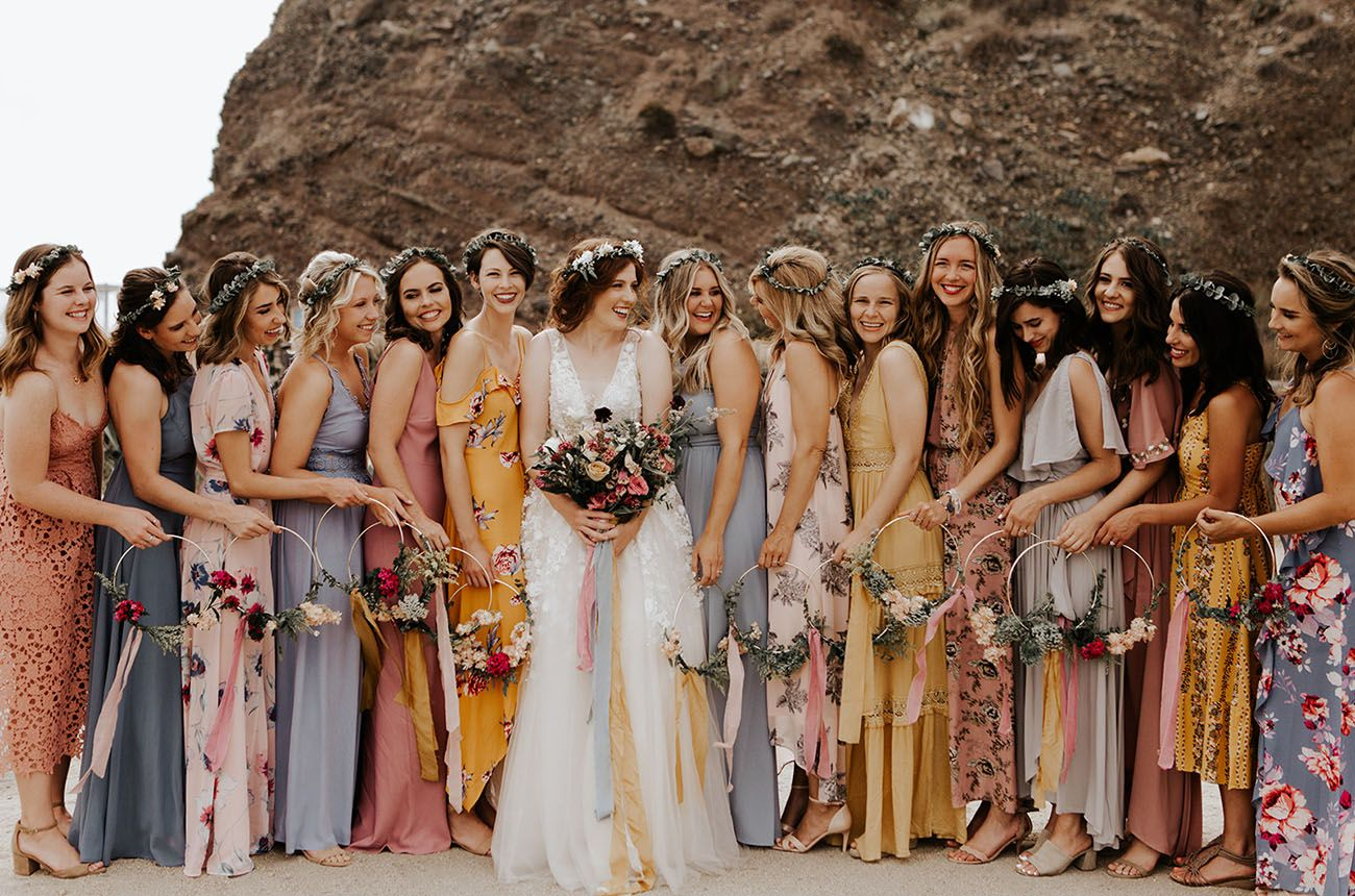 Pastel-Hued + DIY-Filled Wedding in Southern California