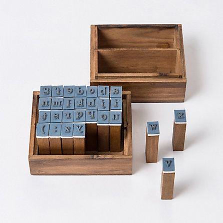 Typewriter Stamp Kit // $20