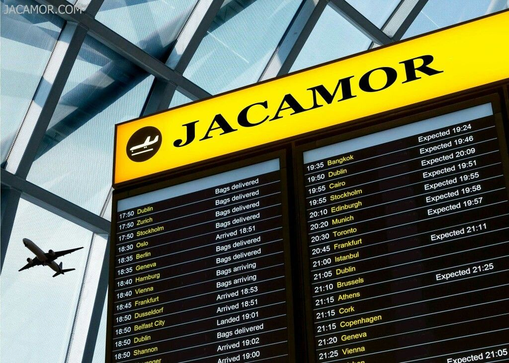 Jacamor.com is International, and always on time.
