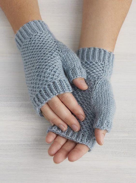 Tutos mitaines au tricot (2) #tricotetcrochet