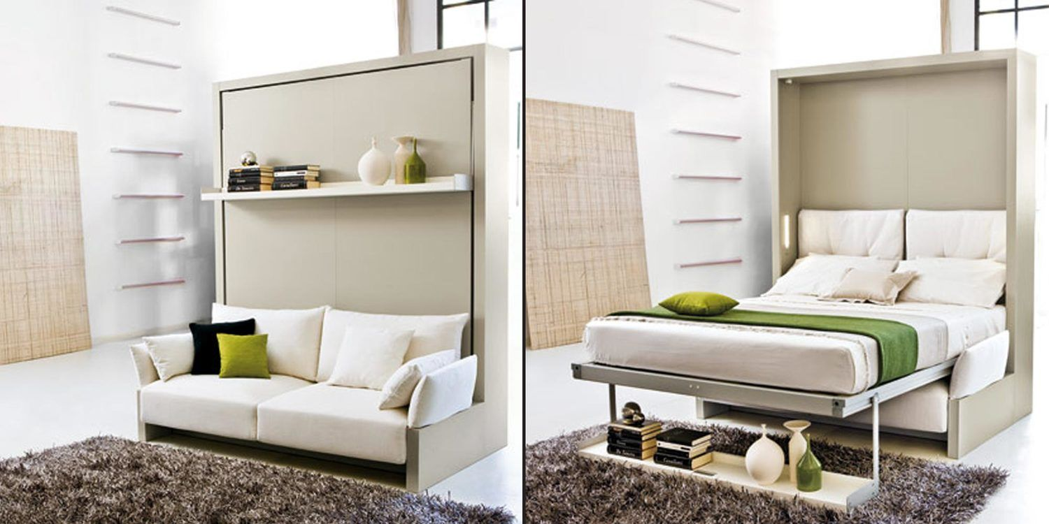 Pull Down Bed And Sofa Set Murphy Bed Couch Space Saving Beds