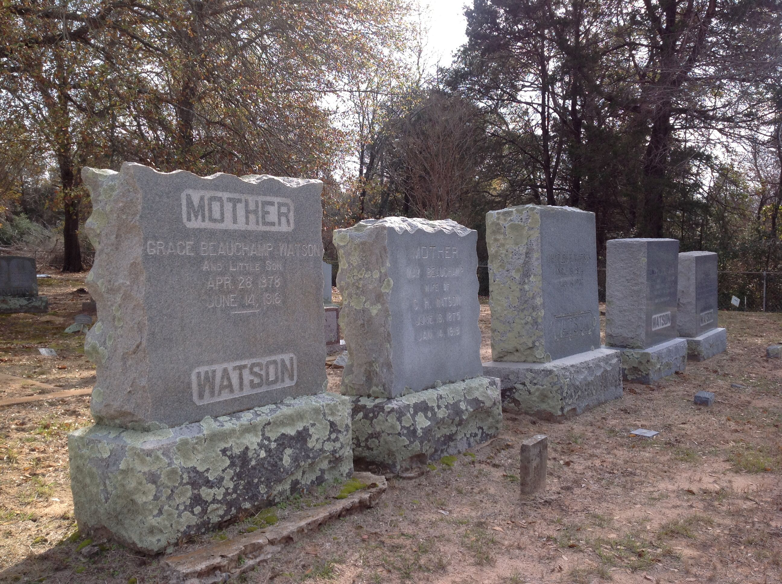 Steward's Mill Cemetery, my family the Watson's