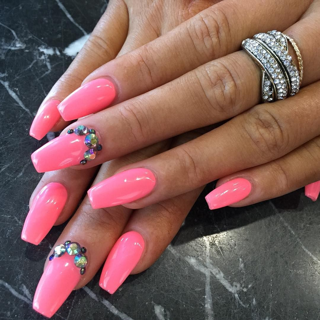 Awesome Summer Acrylic Nail Design Trends 2018 Pinterest