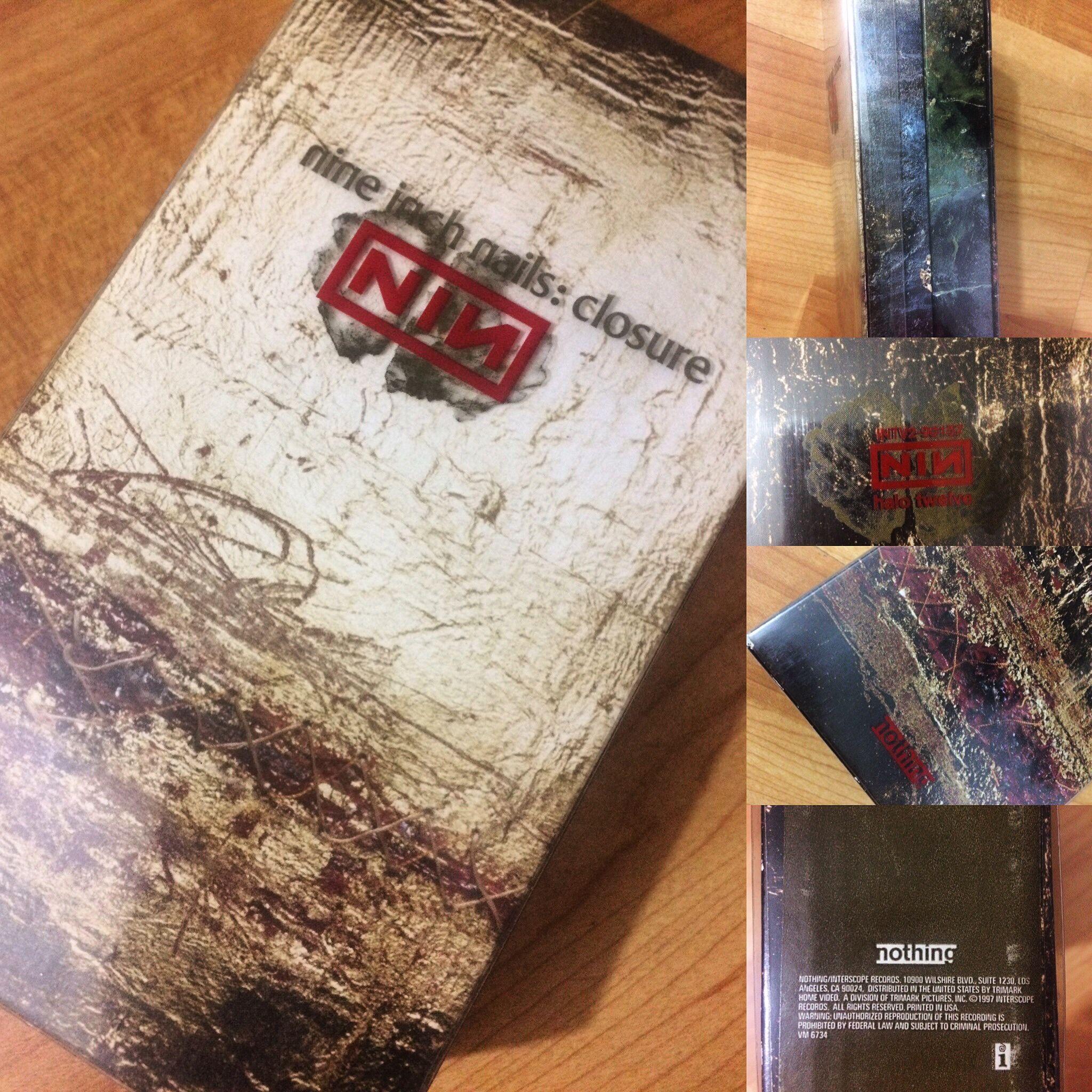 Nine Inch Nails: Closure Box Set | Music Memorabilia | Pinterest ...