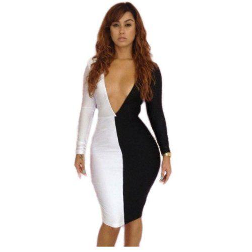 Sexy Vestido Nightclub Dresses Women Bandage Club Wear Bodycon ...