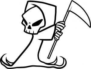Image Result For Grim Reaper Drawing Cool Easy Drawings Cool
