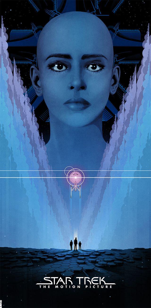 Original Star Trek Movie Posters Illustrated By Matt Ferguson